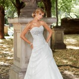 suknia ślubna Annais Bridal z aplikacją