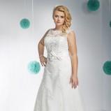 suknia ślubna Annais Bridal z kokardą