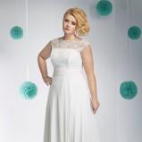 suknia ślubna Annais Bridal z koronką