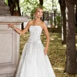 suknia ślubna Annais Bridal z pasem koronkowa