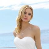 Suknia ślubna bustier + litera A
