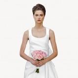 suknia ślubna Carolina Herrera krótka