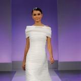 suknia ślubna Cymbeline w pasy plisowana
