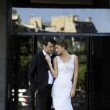 suknia ślubna Cymbeline z koronką na ramiączkach
