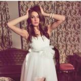 suknia ślubna Dagnez asymetryczna