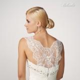 suknia ślubna Gala z koronką z dekoltem  na plecach