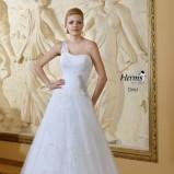 suknia ślubna Herms Bridal na jedno ramię