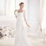 suknia ślubna La Sposa z narzutką