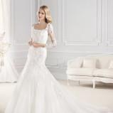 suknia ślubna La Sposa z rękawami