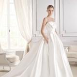 suknia ślubna La Sposa z trenem