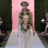 suknia ślubna Oscar de la Renta dwuczęściowa