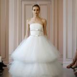 suknia ślubna Oscar de la Renta tiulowa
