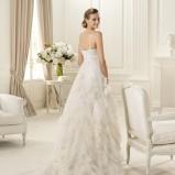 suknia ślubna Pronovias drapowana