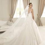 suknia ślubna Pronovias prześwitująca