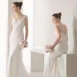 suknia ślubna Rosa Clara koronkowa