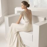 suknia ślubna Rosa Clara z dekoltem  na plecach