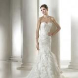 suknia ślubna St. Patrick z falbanami