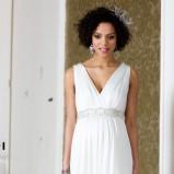 suknia ślubna Tiffany Rose odcinana pod biustem