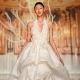 suknia ślubna Yolan Cris z koronką krótka
