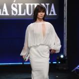 suknia ślubna z wycięciem Nina Tyrka  - Polska Gala Ślubna