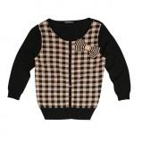 sweter Bialcon w kratkę - jesień/zima 2011/2012