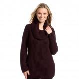 sweter C&A w kolorze brązowym - moda na zimę 2013/14