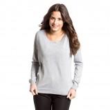 sweter C&A w kolorze szarym - moda na jesień 2013
