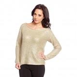sweter C&A w kolorze złotym - moda na jesień 2013
