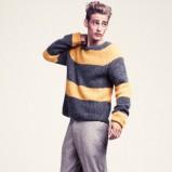 sweter H&M w pasy - zima 2011/2012