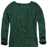 sweter Reserved w kolorze zielonym - kolekcja damska jesień-zima 2012/2013