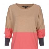 sweter Top Secret w kolorze beżowym - wiosna 2013
