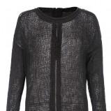 sweter Top Secret w kolorze czarnym - trendy 2013