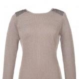 sweter Top Secret w kolorze szarym - trendy 2013