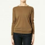 sweter ZARA - moda wiosna/lato