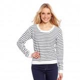 sweterek C&A w paski - moda na wiosnę