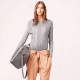 sweterek Chloe w kolorze szarym - moda na jesień 2013