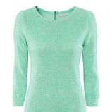 sweterek H&M w kolorze miętowym - modne kolory 2013