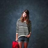 sweterek Springfield we wzorki - jesień 2013