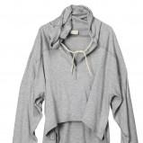 szara bluza H&M z kapturem - kolekcja wiosenno/letnia