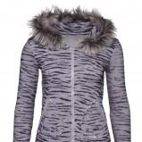 szara bluza New Yorker z futerkiem - sezon jesienno-zimowy