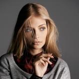 szara bluza Reserved - moda 2013