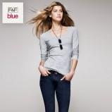 szara bluzka F&F - trendy wiosna-lato