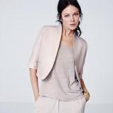 szara bluzka H&M - wiosna 2012