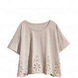 szara bluzka H&M - z kolekcji wiosna-lato 2011