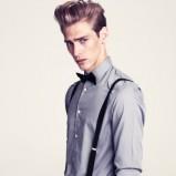 szara koszula H&M - zima 2011/2012