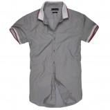 szara koszula Reserved - z kolekcji wiosna-lato 2012