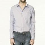 szara koszula ZARA - kolekcja wiosenna