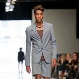 szara marynarka Polygon - moda 2012