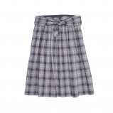 szara spódnica Bialcon w kratkę - moda 2011/2012