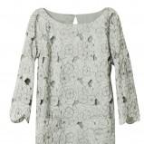 szara sukienka H&M - wiosna 2011